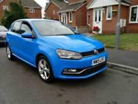 Volkswagen Polo Tech SEL 1.4 TDI BlueMotion 2015 low mileage 22k, HPI clear