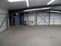 MEZZANINE FLOOR 17M X 8M WITH STAIRS DISMANTLED READY TO GO( STORAGE , PALLET RACKING )