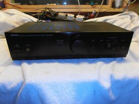 DENON PMA 250 SE AMPLIFIER with PHONO STAGE FOR RECORD PLAYER TURNTABLE