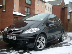 MERCEDES A Class 190 CDi Coupe Black Avantgarde
