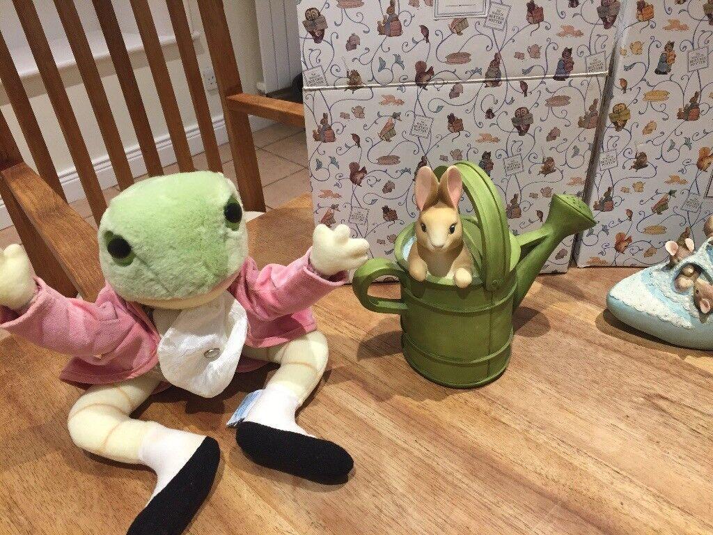 Beatrix potter ornaments collectors items