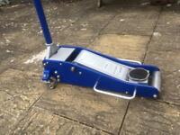 2.5 TON LIFTMASTER LOW ENTRY PROFILE HYDRAULIC CAR TROLLEY FLOOR LIFTING JACK