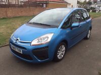 Citroen C4 Picasso 1.6 HDi SX, CAMBELT CHANGED/ 6 MONTHS FREE WARRANTY