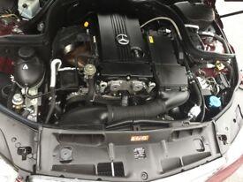 2008 Mercedes C Class C200K Petrol 1.8L SE, (78K, FMBSH, Two KEYS, One Prev Owner,Sept 18 MOT)