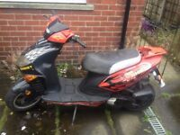 50cc Sinnis ghost, bargain, need gone
