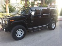 Hummer H2 2002 black 6000cc petrol and LPG with rare 96L tanks! Automatic gearbox Low Mileage