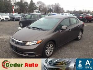 2012 Honda Civic EX - FREE WINTER TIRE PACKAGE