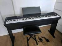 Casio CDP120 Piano with accessories