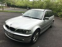 BMW 318i estate Full year MOT and Full service History