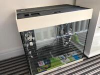 Juwel Lido 120 Aquarium and Cabinet in White