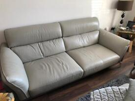 Valdez 3 Seater Sofa and armchair. Grey on grey