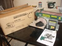 Record Power BDS150 Belt Disc Sander Linisher 6 x 4 inch