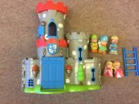 ELC HAPPYLAND CASTLE AND PEOPLE HAPPY LAND