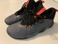 Men's Nike Jordan Super.Fly MVP Low Iron Grey Black Basketball Shoes Trainers UK 11