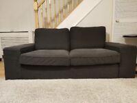 Ikea sofa and matching armchair