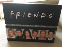 Complete collection of all 10 seasons of friends on DVD