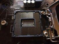 Gaming PC components Intel i5 4690k, Gigabbyte LGA 1150 Z97 mobo, Noctua cooler