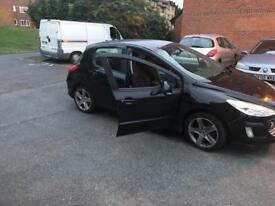 peugeot 308 2009 cheap to insure very good condition
