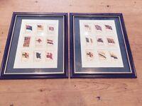Vintage Kensitas British Empire Silk Flag Cards