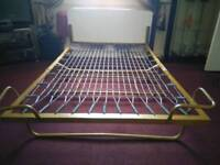 Fold up double bed