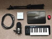 Home Studio with Pro Tools (See Description).