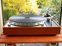 Thorens TD150 Turntable with Sure M75ED - Record Player