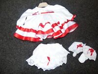 Baby girls dress set 0/3 months