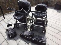 Silver Cross Ventura Car Seat, Push Chair/Pram Isofix