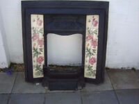 tiled cast iron fireplace county down
