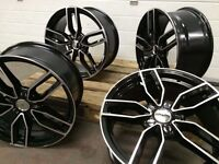 """4x 18"""" 2016 AUDI S3 STYLE ALLOYS WHEELS S LINE RS4 RS3 RS5 RS6 RS7 R8 A3 A4 A5 A6 A7 A8 TT TTS TT RS"""