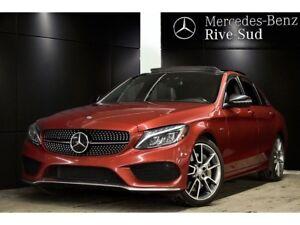 2016 Mercedes-Benz C-Class C450 4MATIC, DISTRONIC PLUS , # IDP