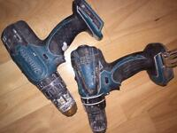 Makita combi drills x2 not working