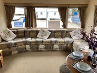 Static caravan Towyn North Wales - site fees included