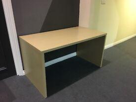 Pine veneer desk