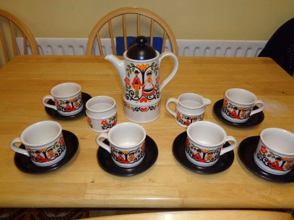 Retro Coffee Set in Torksey