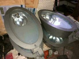 Flood lights Job lot x 4 as good as new never been used