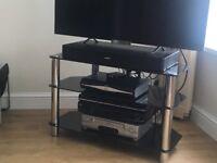 Glass TV Stand