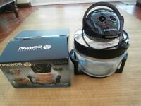 Daewoo Deluxe 2 in 1 Halogen Air Fryer. Boxed. USED TWICE Churchdown