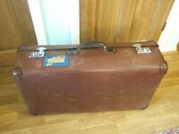 Suitcase Vintage Globetrotter for storage or display