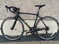 Road Bike For Sale. Carbon Frame - less 100miles done.