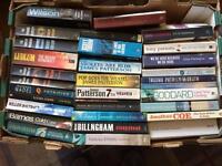Bundle of paperback novels