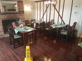 FREE DINING ROOM TABLE AND CHAIRS - NEED GONE ASAP