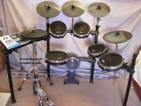 Alesis DM 10 Studio Electric Drum Kit with full 682 mesh head conversion
