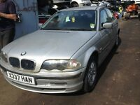 2000 BMW E46 316i Se auto titan silver 4dr saloon BREAKING FOR SPARES