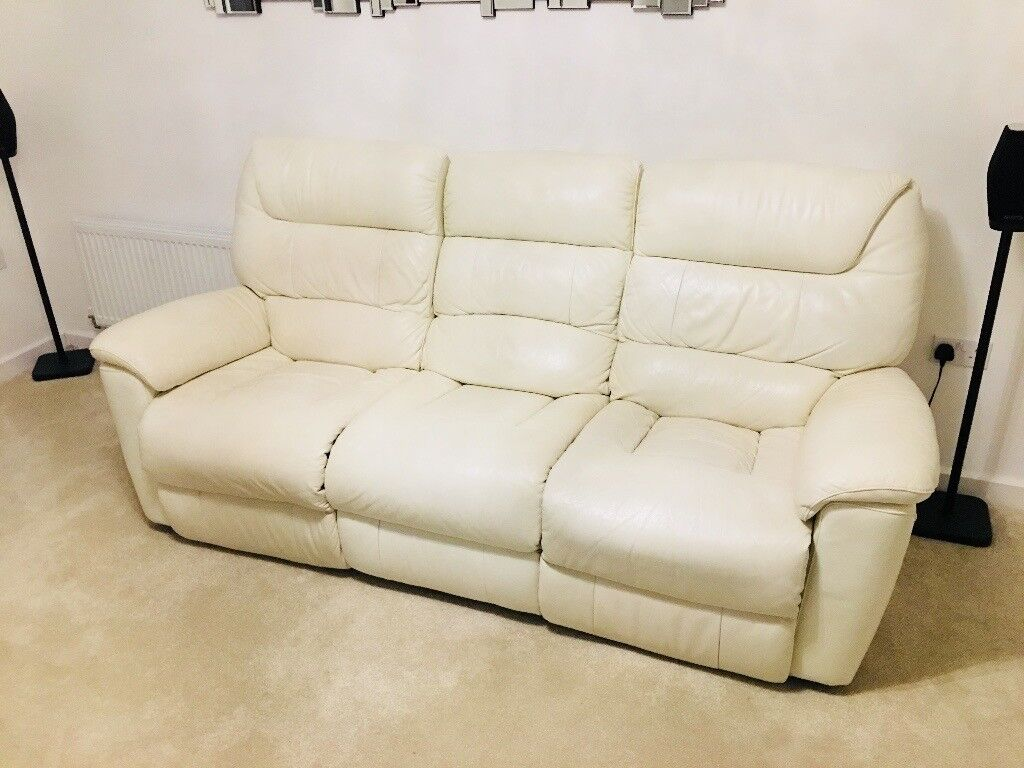 Lazy Boy Lazboy Manhattan Sofa Electric Recliner 3 1 1