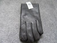 BRAND NEW Marks and Spencer mens brown leather gloves