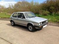 WANTED 1983 VW Golf MK1 Driver Classic like GTi DXI 1285 Silver
