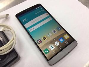 Téléphone Cellulaire Unlocked LG G3 32gb  #F019725