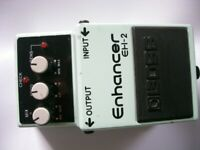 BOSS by Roland EH-2 Enhancer stompbox/pedal/effects unit for electric guitar- Taiwan - '90