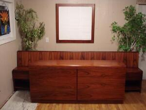 "Mid Century ""Rosewood"" Bedroom Suite"